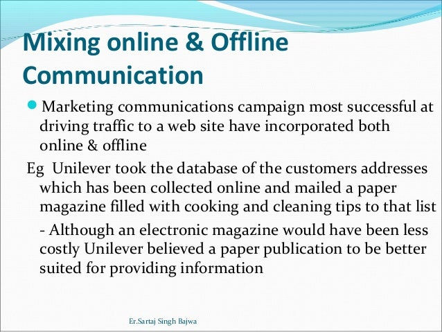 online and offline communication on generating website traffic marketing essay You may unsubscribe from these communications at any time  5 methods for connecting online and offline marketing  social media driving offline traffic - do you.