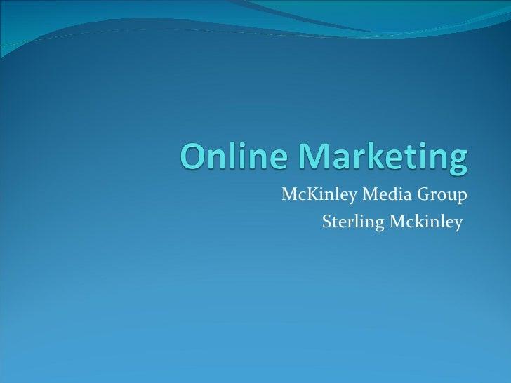 McKinley Media Group Sterling Mckinley