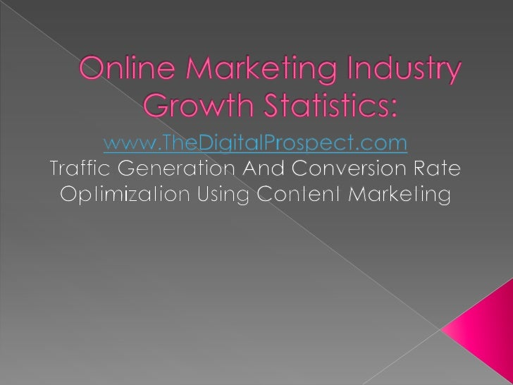 Online dating industry growth rate