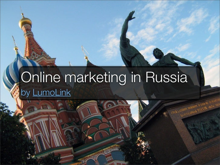 Online marketing in Russiaby LumoLink