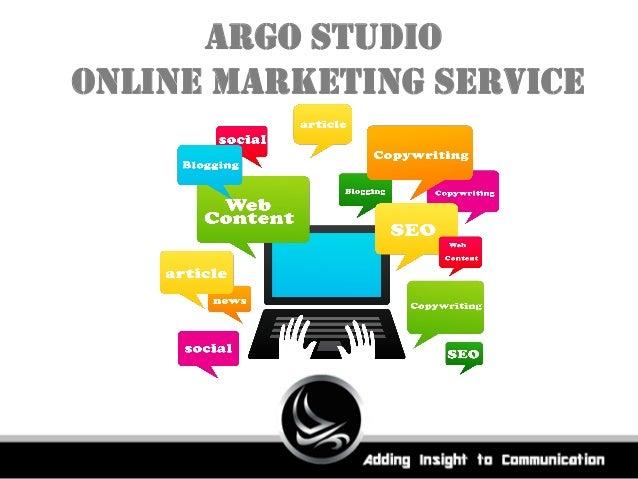 Argo Studio Online Marketing Service