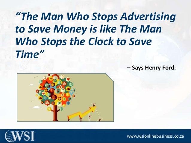 Online Marketing Strategies -Advantages Slide 2