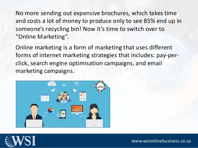 Online Marketing Strategies -Advantages Slide 3