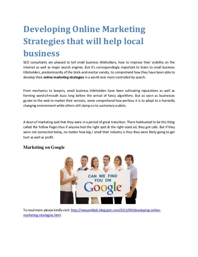 Online marketing strategies topics written for newyorkbd