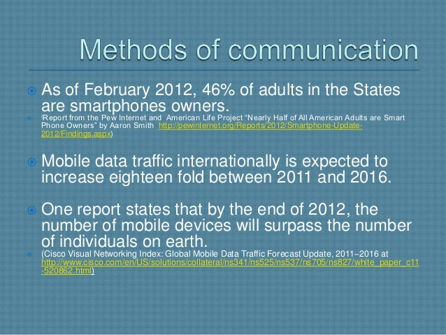    Over half of all Americans over the age of 65 report using the    Internet or email.   Individuals are using their de...