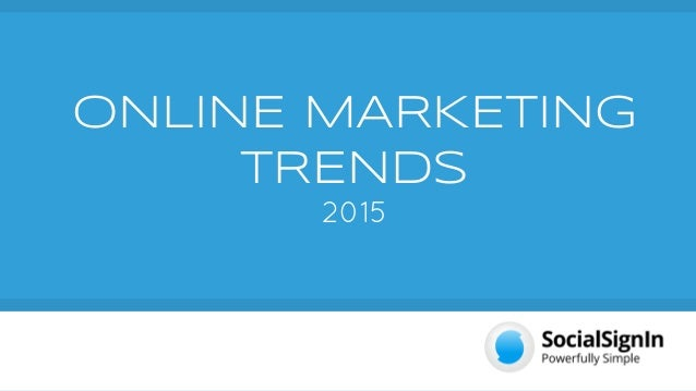 Interactive marketing trends internet