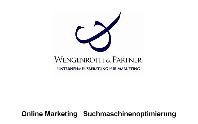 Online Marketing Suchmaschinenoptimierung