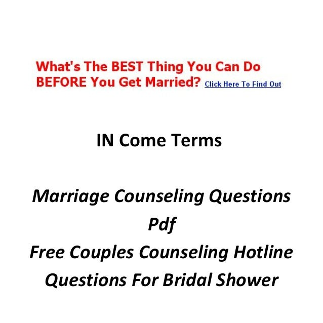 Questions To Ask Bride And Groom About Each Other: Online Marriage Counselor Degree
