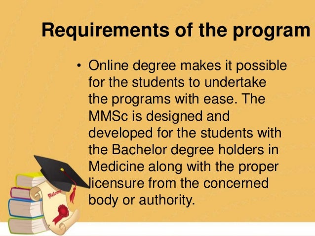 masters degree and medical science essay Course overview master of science (medical science) this research program is designed to build on specialised undergraduate degrees in medical, biomedical and.