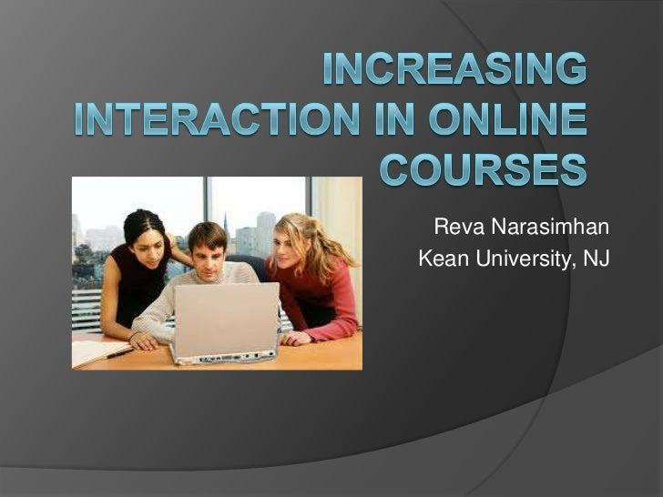 Reva NarasimhanKean University, NJ