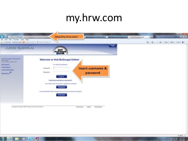 my.hrw.com 6th grade math online book with videos. has grades 6 ...