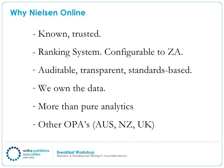 case for critical analysis nielsen media Measles, mumps and rubella (mmr) vaccine case study   played out in the  media, including around the 'medicalisation of five million healthy individuals'  and whether the benefits for this low-risk  45 nielsen sf & nordestgaard bg ( 2016.