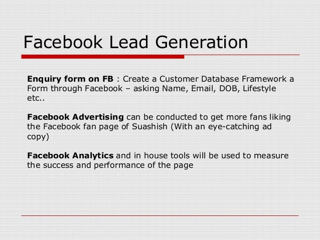 Evaluate the success of advertising on facebook and facebook fan pages