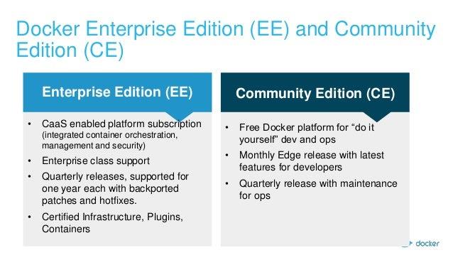 Docker Online Meetup Announcing Docker Ce Ee