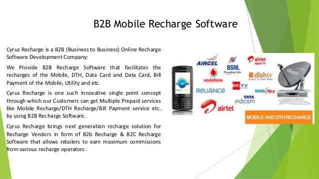 Online all recharge business