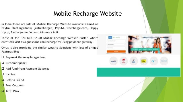 Free Online Prepaid Mobile & DTH Recharge. GSM Recharge available for your vodafone, airtel, tata docomo, reliance, bsnl, dish tv, tata sky, videocon dth, sundirect, big .