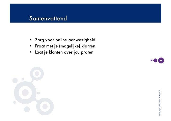 (Online) netwerken en verbinden Fydee Slide 2