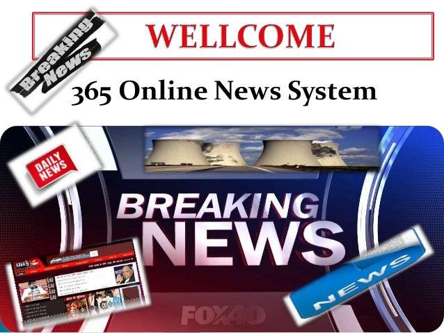 365 Online News System