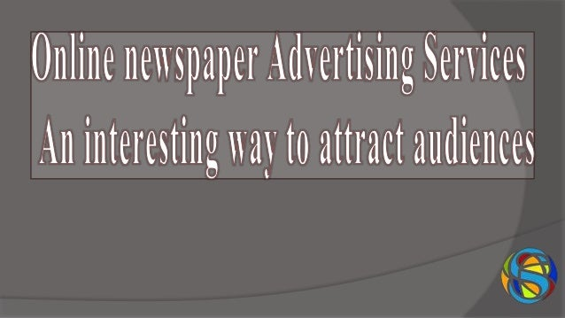 In this modernized world, Online newspaper Advertising Services in Hyderabad play a vital role. Booking ads/classifieds th...