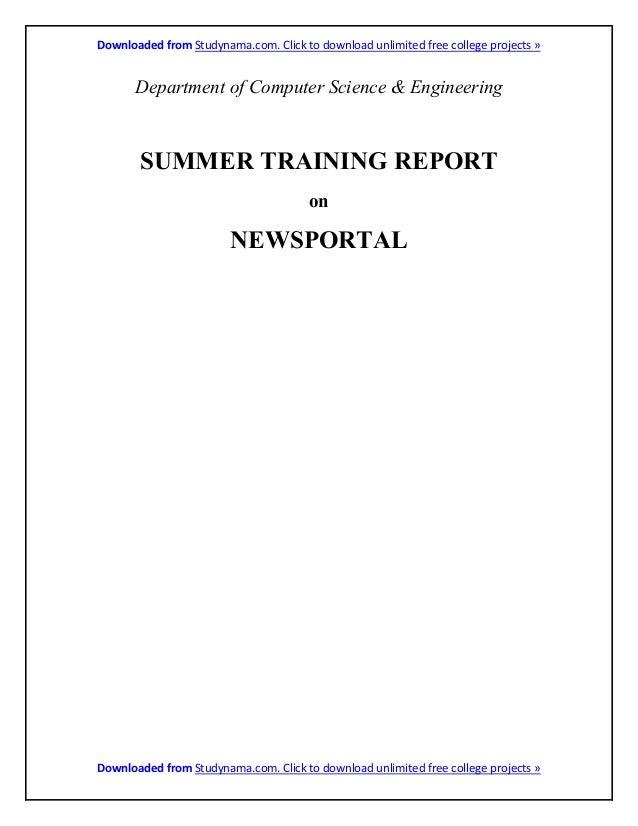 Online news portal java + oracle db summer training project