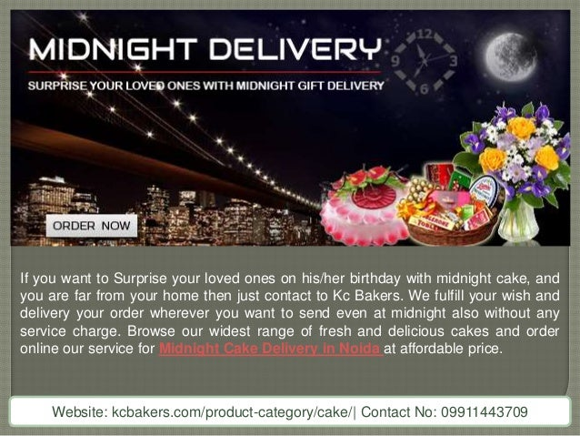 Online No 1 Cake Shop For Midnight Cake Delivery In Noida