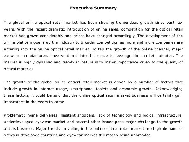 online optical  Global Online Optical Retail Market: Trends and Opportunities (2014-2\u2026