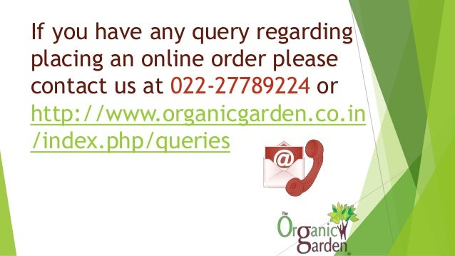 Steps to place online order