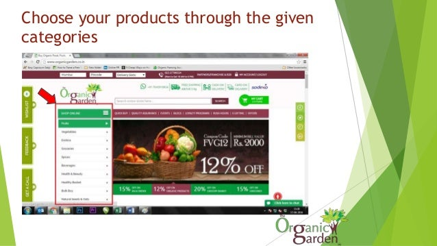 Choose your products through the given categories