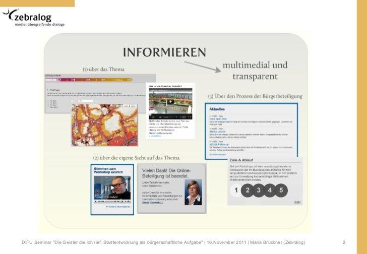 Online Partizipation - Neue Wege in der Prozessgestaltung von Beteiligungsverfahren Slide 2
