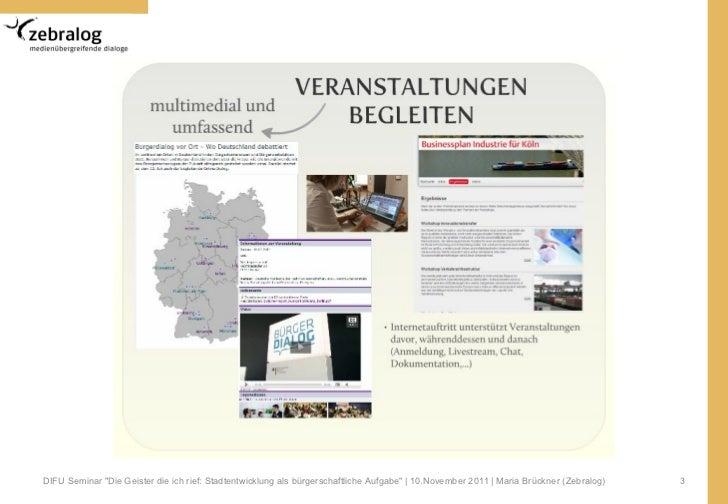 Online Partizipation - Neue Wege in der Prozessgestaltung von Beteiligungsverfahren Slide 3