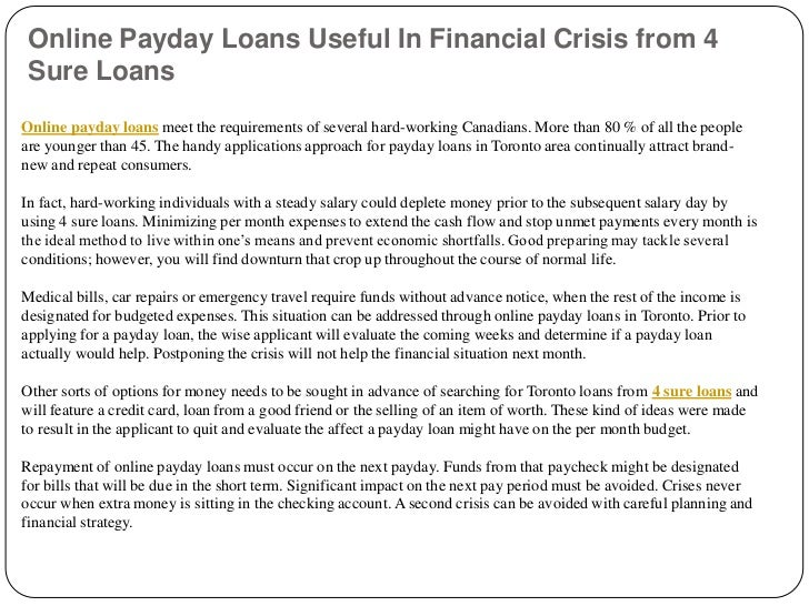 payday student loans on the internet