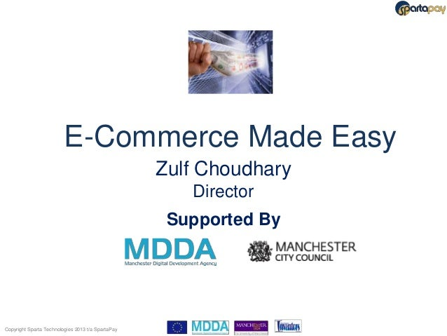 E-Commerce Made Easy                                                   Zulf Choudhary                                     ...