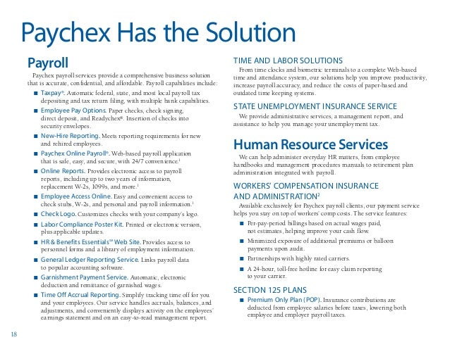 if you use payroll services then you need to know about my paychex