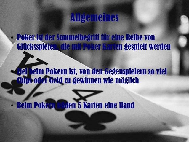 Online poker Slide 2