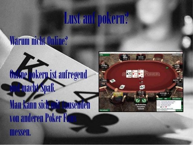 Online poker Slide 3