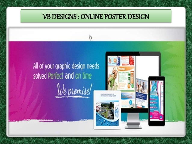 vb designs online poster design