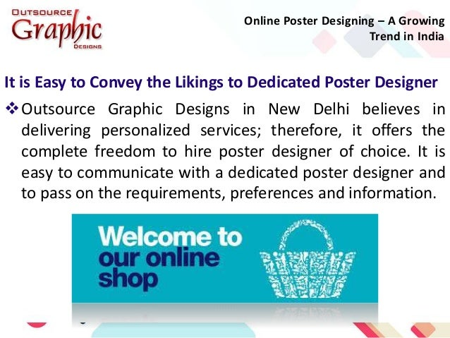 online poster designing a growing trend in india