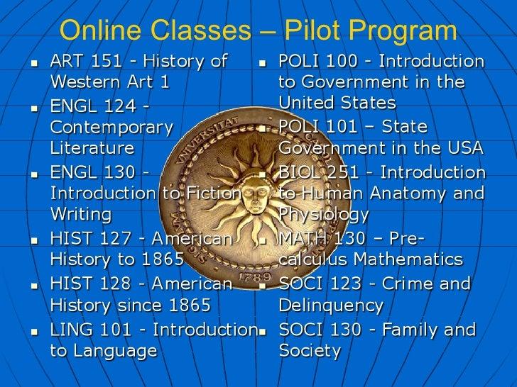 Unc Online College Credit Courses Description Of Services English