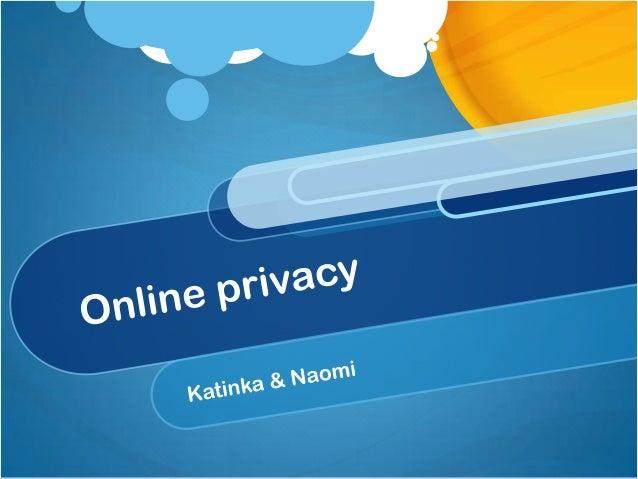 Inhoudsopgave Wat is privacy Privacy online Privacy Facebook, Twitter & Instagram Ouders en internet Wat als het fout gaat...