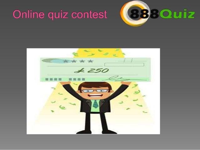 Quiz contest win money online