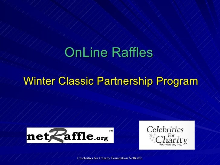 OnLine Raffles   Winter Classic Partnership Program