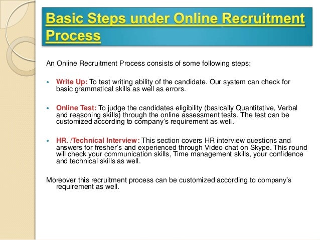 study of recruitment process and e The importance of recruitment and selection process under hrm practices in every to study the recruitment practices in selected organisation 2.