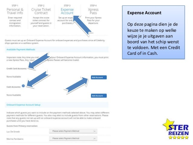 Available Payment Methods Je keert automatisch terug naar de vorige pagina en je zal merken dat er een Account is aangemaa...