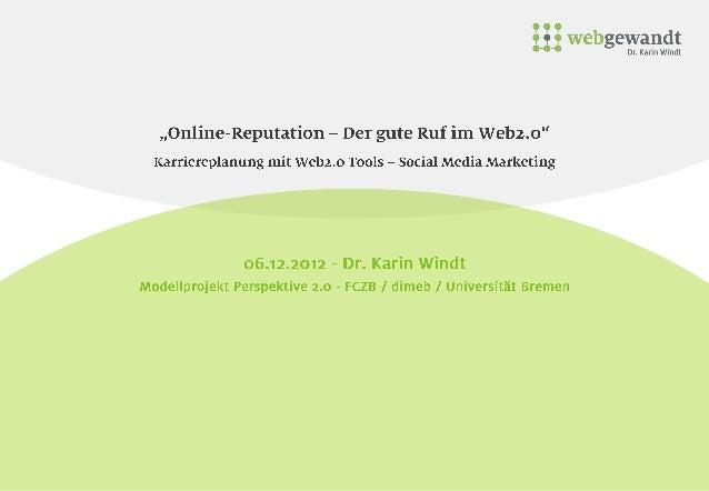 Spuren im Netz              Image        Selbstbild      Sichtbarkeit                Online-Image  U Guter Ruf            ...