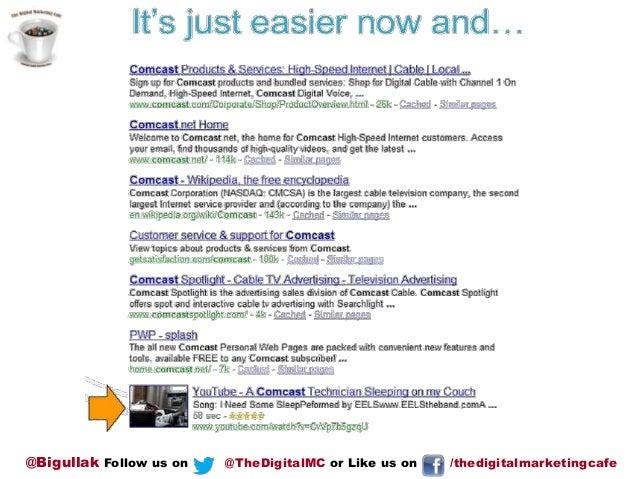 @Bigullak Follow us on  @TheDigitalMC or Like us on  /thedigitalmarketingcafe