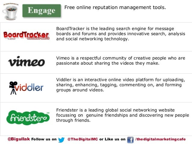 Free online reputation management tools.  BoardTracker is the leading search engine for message boards and forums and prov...