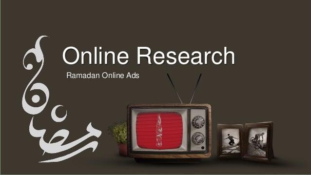 Ramadan Online Ads Online Research
