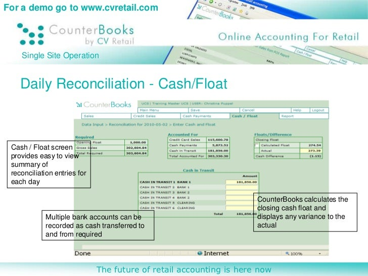what is retail accounting