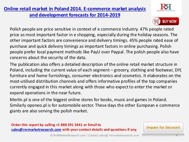 online retail market in poland 2014 Retailnet european grocery retailing change is the only constant may 2014 kelly tackett research director 2 1 poland bulgaria greece cyprus macedonia albania bosnia & herzegovina by food retail format market share.