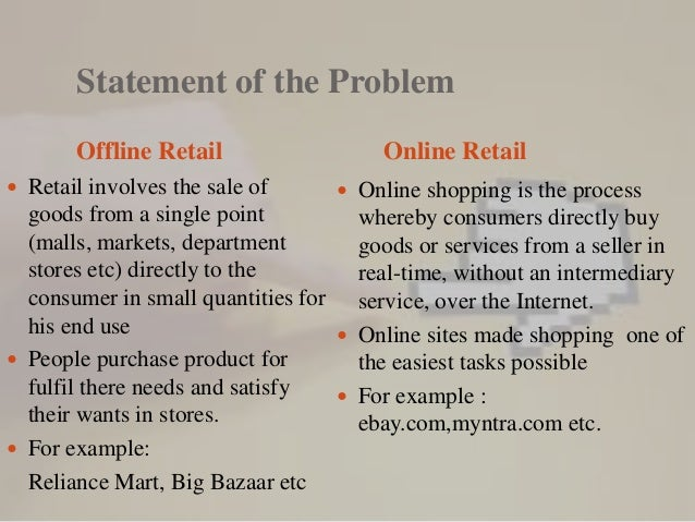 traditional shopping advantages essay